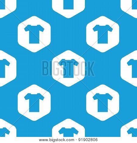 T-shirt hexagon pattern