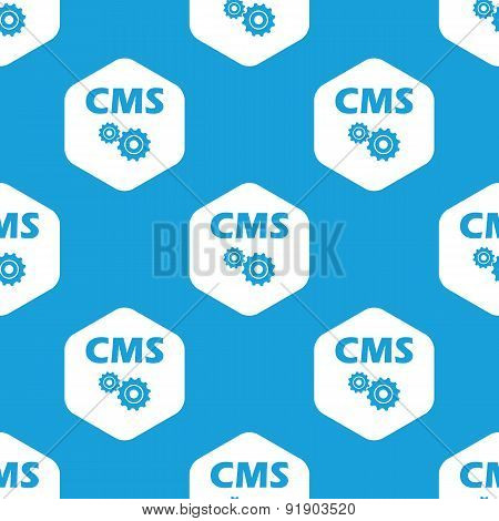 CMS settings hexagon pattern