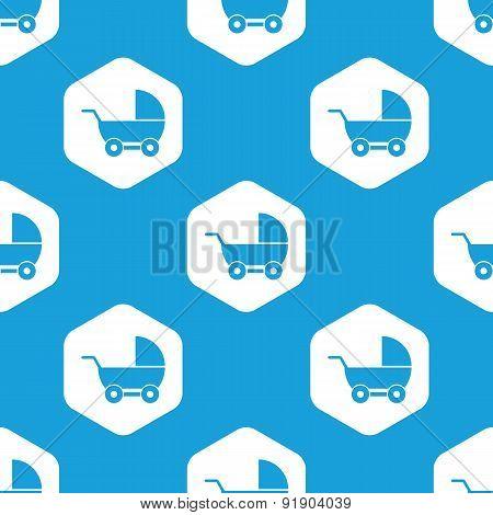 Pram hexagon pattern
