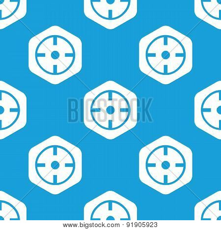 Target hexagon pattern
