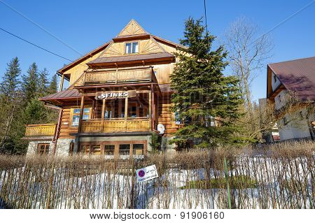 Guest House Called Sfinks In Zakopane