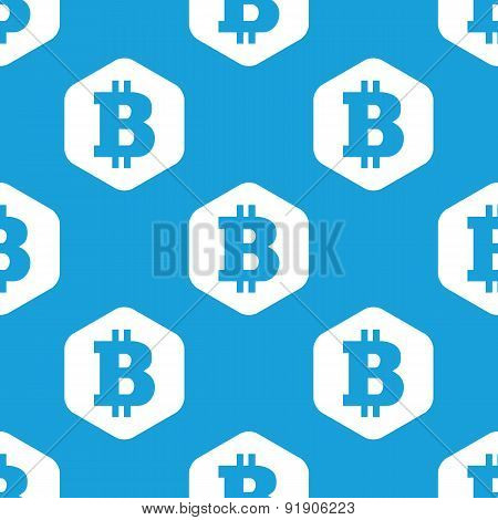 Bitcoin hexagon pattern