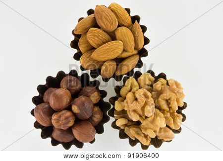 Assorted Nuts In Figured Form