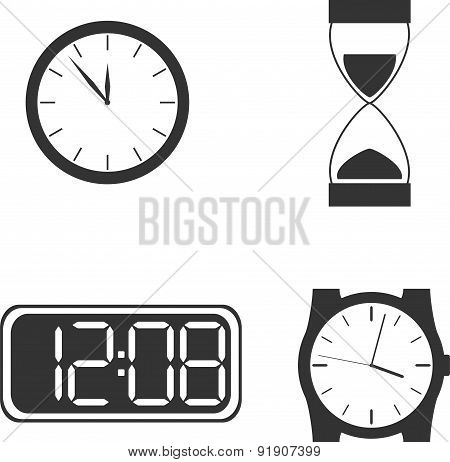 Different clock types