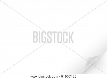 Blank white gorizontal page.