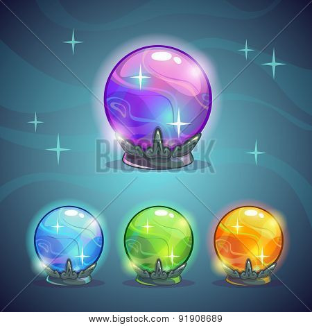 Magic Crystal Balls