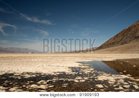 Badwater, Death Valley Np, California Usa