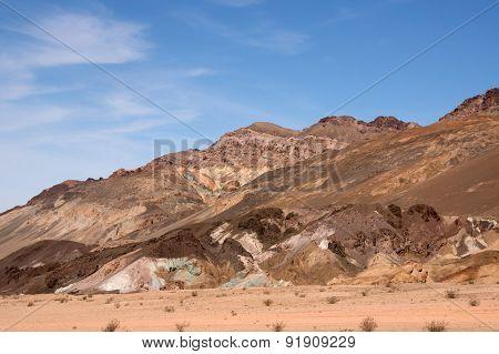 Artist´s Palette, Death Valley Np, California, Usa