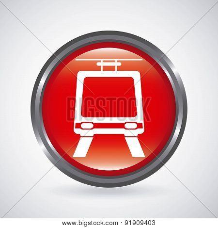 Transport design over gray background vector illustration