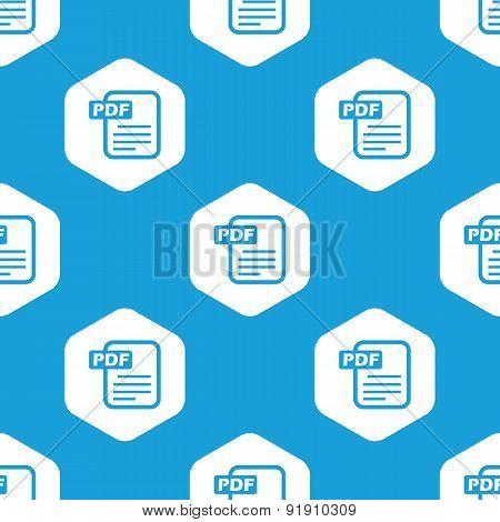 Pdf file hexagon pattern