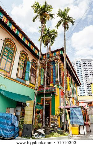 Last Surviving Chinese Villa In Little India, Singapore