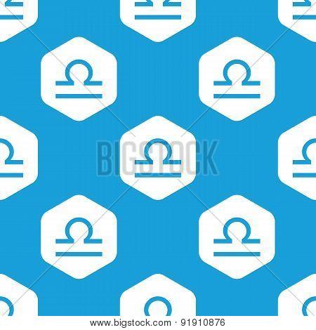 Libra hexagon pattern