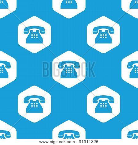 Phone hexagon pattern