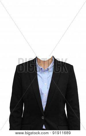 Businesswoman Without Head