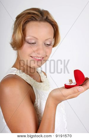 Woman With Wedding Rings