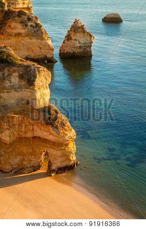 Camilo Beach, Lagos, Algarve, Portugal