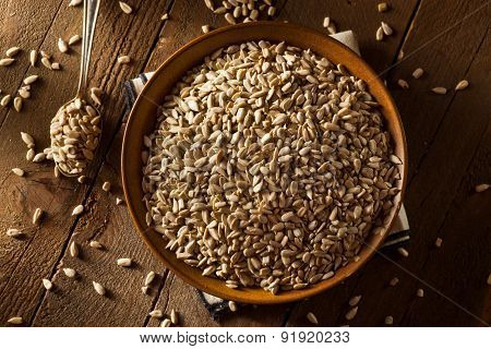 Raw Organic Hulled Sunflower Seeds