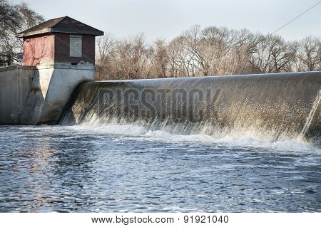 Turner Reservoir Spillway