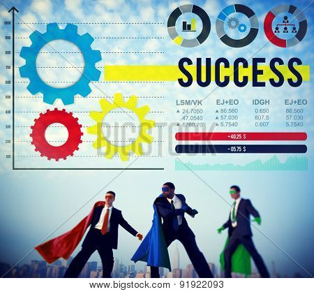 Success Winning Excellence Growth Successful Concept