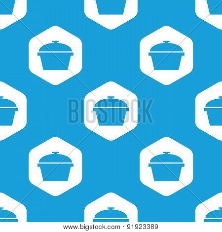 Pan hexagon pattern