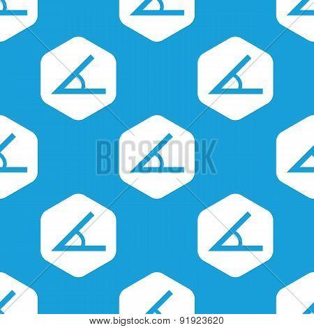 Angle hexagon pattern