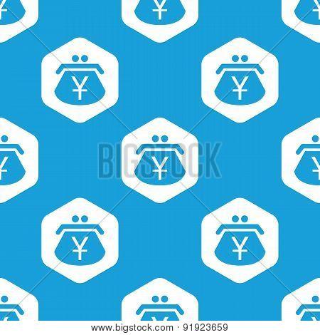 Yen purse hexagon pattern