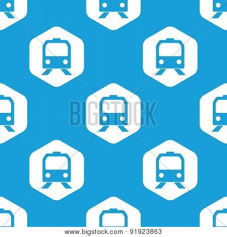 Train hexagon pattern