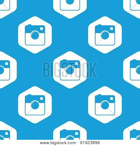 Square camera hexagon pattern