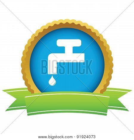 Watertap round icon