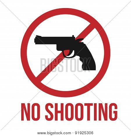 No shooting icon