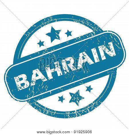 BAHRAIN round stamp