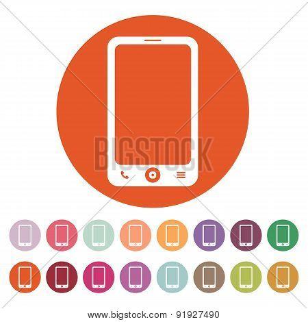 The Smartphone Icon. Phone Symbol.