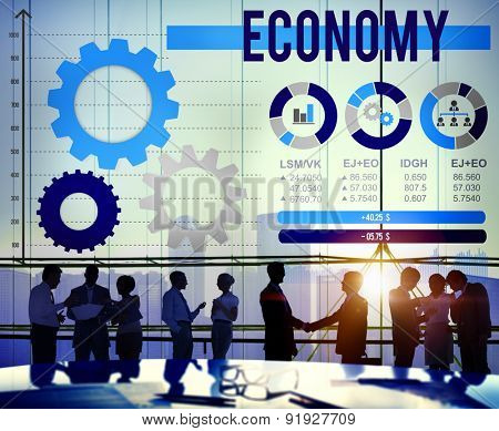 Economy Economic Global Business Financial Concept