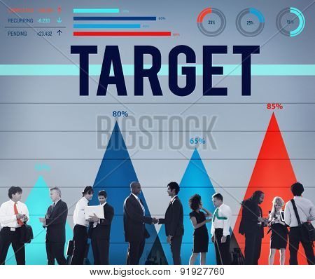 Target Goal Vision Aspiration Success Inspiration Concept