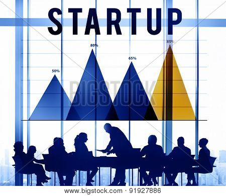 Start Up Business Plan Planning Innovation Ideas Concept