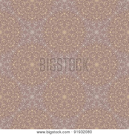 Pattern With Round Ornaments