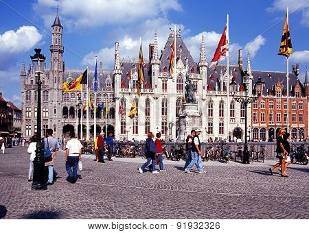 Government Palace, Bruges.