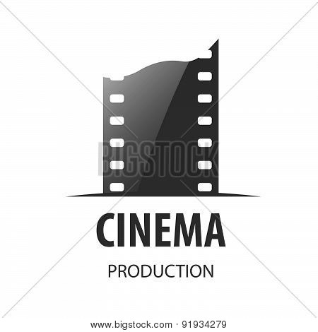 Vector Logo For Videotape Film Production