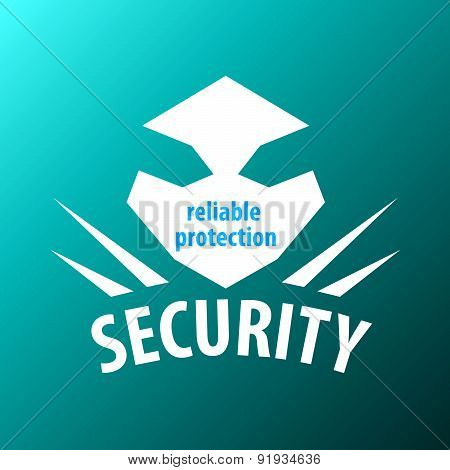 Abstract Vector Logo For Security Guards