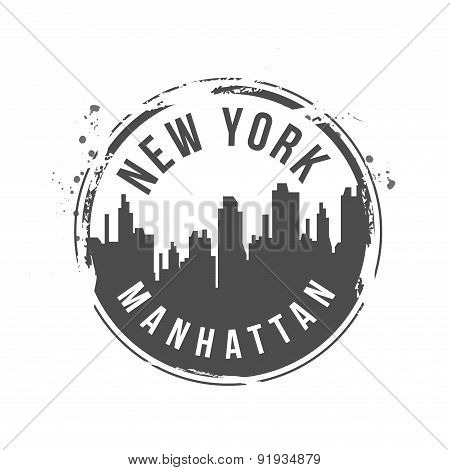 Stamp Manhattan