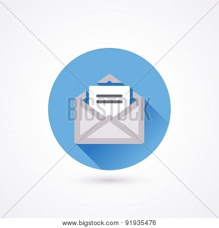 Flat Icon. Mail