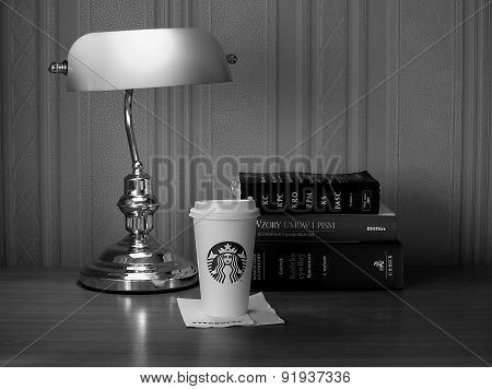 Starbucks coffee cup