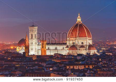 Duomo Santa Maria Del Fiore in Florence, Italy