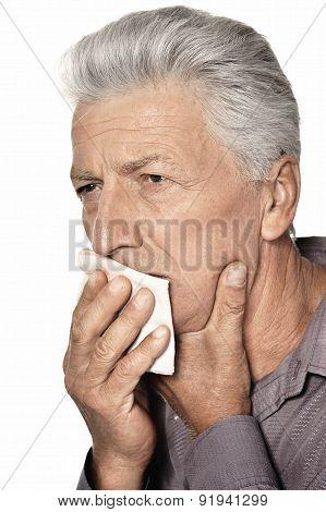 Sick old man