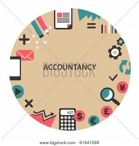 Accountancy Emblem.