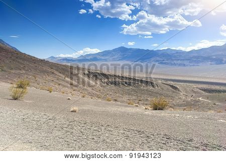 Fragment Of Ubehebe Crater In Death Valley National Park, California, United States