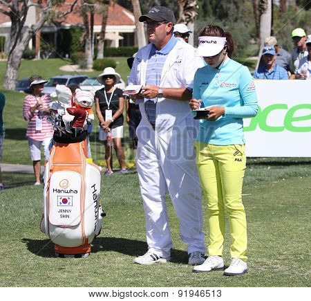 Jenny Shin At The Ana Inspiration Golf Tournament 20155