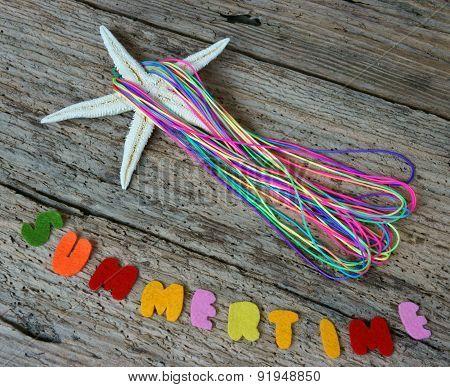 Summertime Background, Handmade, Summer