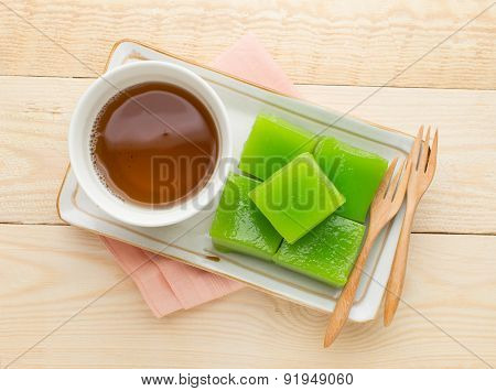 Layer Sweet Cake (kanom Chan)