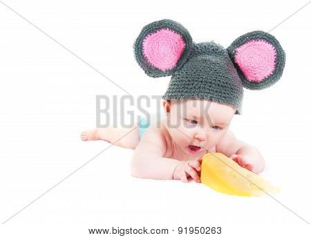 The Little Kid  With Cheese